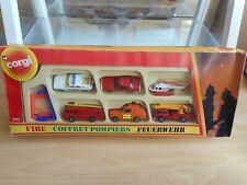 Corgi Fire Gift Set in Box (Corgi nr: 3101)