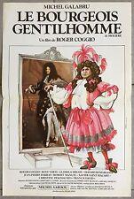Affiche LE BOURGEOIS GENTILHOMME Roger Coggio MICHEL GALABRU Rosy Varte 40x60cm*