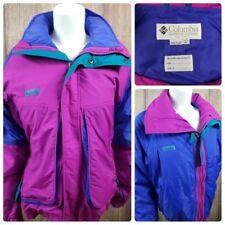 Columbia Vtg 90s Youth Girl's XL 3 in 1 Powder Keg Ski Jacket Coat Pink Purple