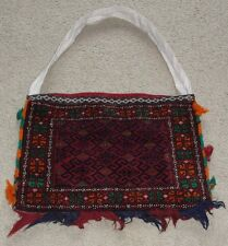 Afghanistan Nomad Kuchi Cary Tote Bag Collectible Rug Antique Decoration