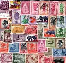 Belgique - Belgium colonies 500 timbres différents