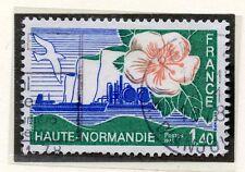 TIMBRE FRANCE OBLITERE N° 1992 HAUTE NORMANDIE / Photo non contractuelle