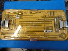 Mitek Arthroscopic instruments for GII and Super Anchor with tray 215555