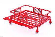 Jazrider 1/10 RC Car Crawler Truck Red Aluminum Luggage Roof Rack (82mm x 102mm)