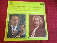 LP HENRYK SZERYNG Bach Sonaten und Partiten für Violine Solo Nr 3 CBS 51070 FRAN