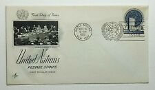 1951 FDC United Nations First Day of Issue New York Postmark Artcraft Cachet 50c