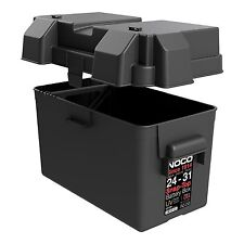 NEW UNIVERSAL BATTERY CARRIER BOX  CAR VAN CAMPER 110ah Batteries Noco HM318BK