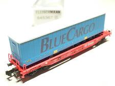 Fleischmann N DB Cargo 4achs. Taschenwagen rot 845367 NEU OVP