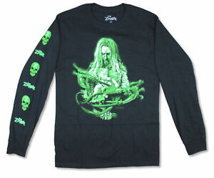Rob Zombie Green Machine Black Long Sleeve Shirt NEW, OFFICIAL