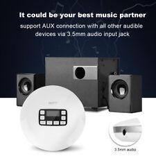 HOTT CD611T Tragbarer stoßsicherer Bluetooth HIFI Stereobass CD Musik Spieler