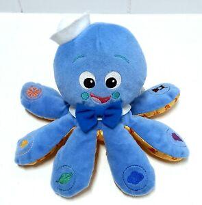 Baby Einstein Octoplush Blue Octopus Plush Interactive Touch And Sound Toy