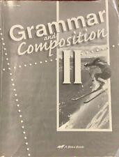 Grammar And Composition Ii Test/Quiz Key