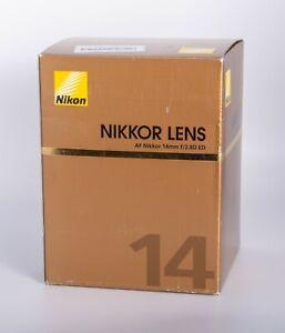 Nikon NIKKOR 14mm f/2.8 AS RF D AF A/M ED Lens - Brand New