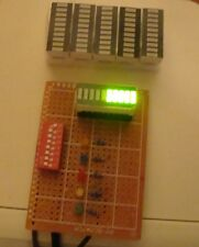 5pcs LED bargraph modules, 10bars each, green for graphic Equalizer display