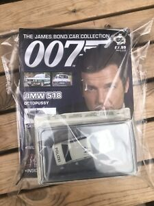 #66 James  Bond 007 Diecast Car Collection BMW 518