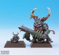 Rare OOP Confrontation Rackham Dwarfs of Mid Nor -  Yh-Ibenseth Dominant