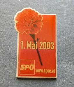 1.Mai-Abzeichen SPÖ  2003