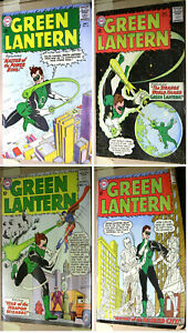 Green Lantern 22, 24, 25, 27