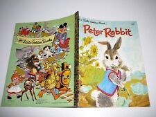 Peter Rabbit Little Golden Book E505 PB 1978 Beatrix Potter