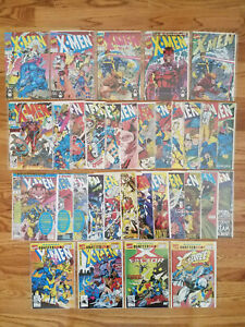 X-Men 1991 1A,1B,1C,1D,1E,2,3,4,5-25 +Annuals Marvel Jim Lee 1st Omega Red VF/NM
