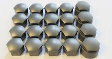 GENUINE AUDI A2 A3 A4 A5 A6 A8 Q5 17mm WHEEL NUT BOLT COVERS LOCKING CAPS x20 GC