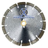 "12"" Wet/Dry Diamond Saw Blade All Purpose for Concrete Stone Brick Masonry"