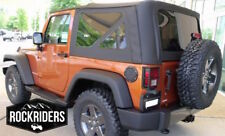 07-09 Jeep Wrangler JK 2 Door Replacement Soft Top and Tinted Rear Windows