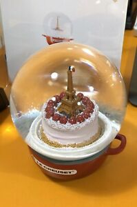 Le Creuset 2019 Christmas Snow Globe Paris