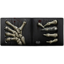 SPIRAL DIRECT DEATH GRIP - BIFOLD WALLET WITH RFID BLOCKING AND GIFT BOX/Skull