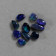 Parcel of Australian Cut Black Opal from Lightning Ridge - BLC00969