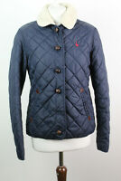 JACK WILLS Navy Quilted Jacket size Uk 12