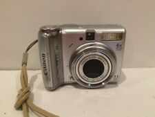 Canon PowerShot A570 7.1MP Digital Camera Silver TESTED