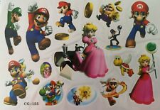KIDS Temporary Tattoo MARIO Great for Party Bags