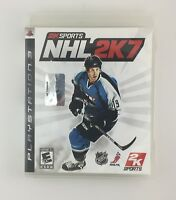 NHL 2K7 - Playstation 3 PS3 Game - Complete & Tested