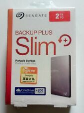 "Seagate Backup Plus Slim 2TB External 2.5"" Portable Hard Drive - STDR2000301"