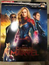 Captain Marvel Target 4K & Bluray Box Set Used Like New