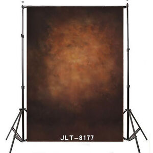 5X7FT Brown Abstract Photography Backdrop Retro Studio Photo Background 8177