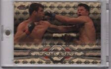 MICHAEL BISPING 2013 Topps UFC Finest Base SUPERFRACTOR Gold 1/1