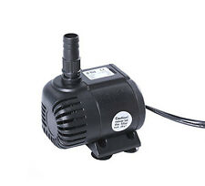 180 GPH Submersible Pump Aquarium Fish Tank Powerhead Fountain Water Hydroponic