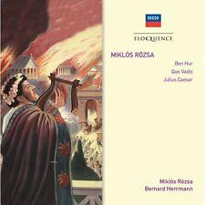 Ben Hur / Quo Vadis - 2 x CD Edition - Miklos Rozsa / Bernard Herrmann