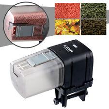 Automatic Pond Fish Food Feeder Tank Aquarium LCD Auto Timer Feeding Dispenser