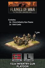GE570 - 15CM INFANTRY GUN PLATOON - FLAMES OF WAR - NOW