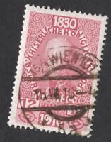 AUTRICHE N°: 125 USED     CV: 9 €