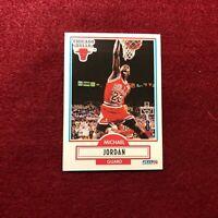MICHAEL JORDAN , CHICAGO BULLS , 1990 FLEER , NBA BASKETBALL CARD #26 SWEET CARD