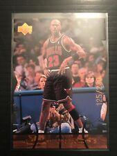 1998 UPPER DECK MJX MJ TIMEPIECES DIECUT DIE-CUT BRONZE MICHAEL JORDAN /230 #77