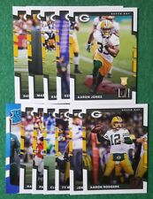 2017 Donruss Green Bay Packers team set, Aaron Rodgers,   13 cards 4 RC