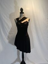 Creations By Cicci Dance Costume: Size Adult S, Color Black