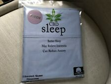 CBD ROYAL HERITAGE PILLOW CASE Blue 100% Cotton