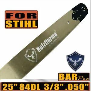 Holzfforma® Pro 24 or 25inch 3/8 .050 84DL Guide Bar For Stihl