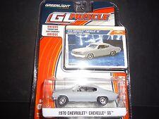 Greenlight Chevrolet Chevelle SS plat gris 1/64 13170